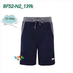 Quần short nam có dây-navy 25-50kg sz8,12,14,16