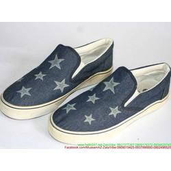 Giày xỏ nam vải jean ngôi sao phong cách năng động GX9