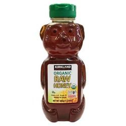 Mật ong nguyên chất Kirkland Signature Organic RAW HONEY