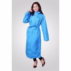 Áo mưa măng tô nữ vải dù cao cấp siêu nhẹ