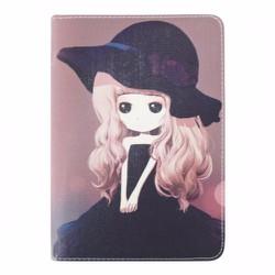 Bao da iPad Mini 2-3 hiệu Dilian hình Chibi dễ thương version 7