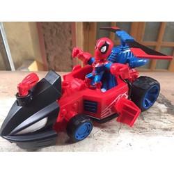 xe ô tô bay spiderman