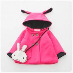 Áo khoác cho bé gái kèm túi