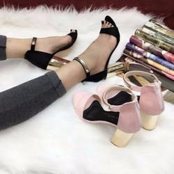 Giày đế vuông hàng Việt xuất khẩu