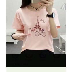 áo thun tháp Paris đẹp