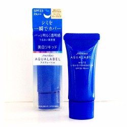 Kem nền Aqualabel - White Liquid Foundation SPF23 PA 25g