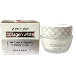 KEM DƯỠNG 3W CLINIC COLLAGEN WHITENING CREAM - Gía 140k