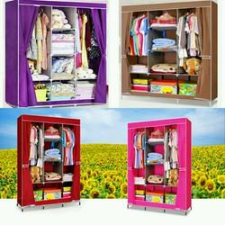 Tủ vải 3 buồng 8 ngăn
