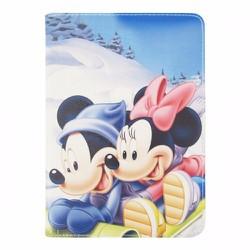 Bao da iPad Mini 2-3 hiệu Dilian hoạt hình Chuột Mickey version 4
