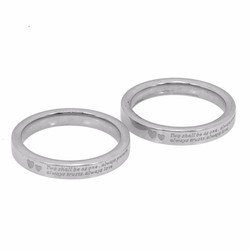 Nhẫn cặp đôi Hàn Quốc đẹp giá rẻ mẫu N050