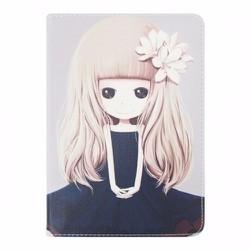Bao da iPad Mini 2-3 hiệu Dilian hình Chibi dễ thương version 5