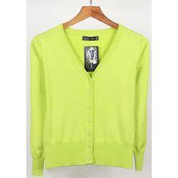 áo khoác len nút bọc cao cấp quảng châu nhiều màu