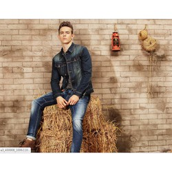 Áo khoác jeans nam phong cách bụi bặm KAKN 39
