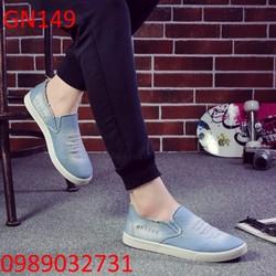 Giày lười nam phong cách Jean Hàn Quốc - GN149