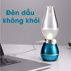 Đèn Dầu Led Cảm Ứng Sạc Điện Thổi Bật Tắt - đèn thổi tắt