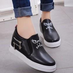 TT012D - Giày sneaker nữ cá tính, phong cách Hàn Quốc