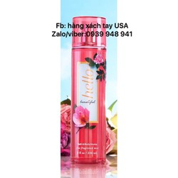 Xịt toàn thân bath and body works mùi Hello Beautiful