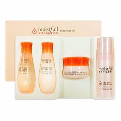 Bộ dưỡng da mini chống lão hóa Moistfull SkinCare Kit EtudeHouse
