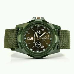 đồng hồ nam Army phong cách quân đội dây dù tặng 2 pin dự phòng