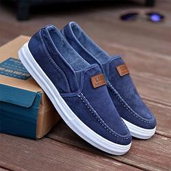 Giày lười nam vải jean-GL1