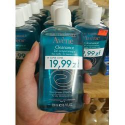 Gel Rửa Mặt Cho Da Nhờn Mụn Cleanance Cleansing Gel 200ml - Avène