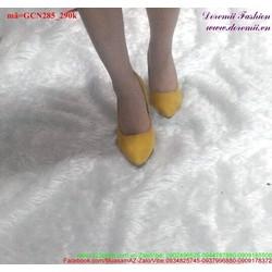 Giày cao gót nữ thiết kế đơn giản sang trọng GCN285