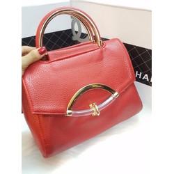 Túi xách tay khoá hình cung - G01264