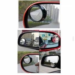 Bộ 2 gương phụ cầu lồi gắn gương chiếu hậu cho xe ô tô 4 - 5 chỗ