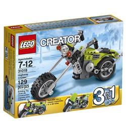 Bộ trò chơi lắp ráp Lego 3 in 1 Creator Highway Cruiser