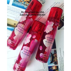 Xịt toàn thân bath and body works mùi Cherry Blossom