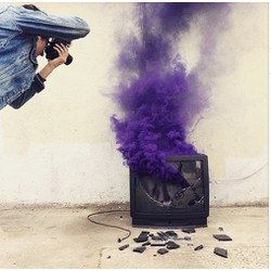 Khói màu - boom khói màu chụp ảnh