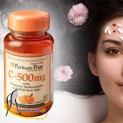 Vitamin C Puritans 500 mg 100 viên