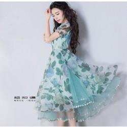 Đầm xoè công chúa bồng bềnh bay bay