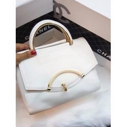 Túi xách tay khoá hình cung - G01263