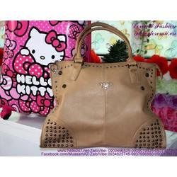 Túi xách thời trang công sở Pra đính hạt sang trọng TXVP43
