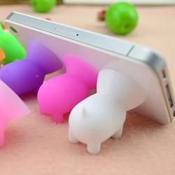 Combo 2 đế hít điện thoại hình thân heo nhỏ