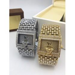 đồng hồ thời trang đính hạt 509