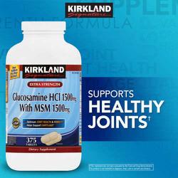 Bổ xương khớp Kirkland Signature™ Glucosamine with MSM, 375 viên