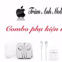 Bộ Sạc Cáp Tai Nghe iPhone Cao Cấp