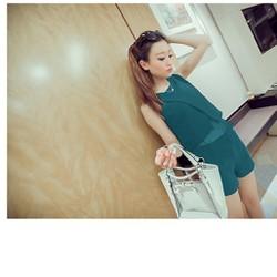 Jumpsuit short thời trang sành điệu DDT 07075A