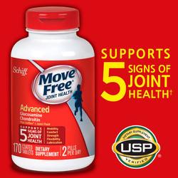 Bổ xương Schiff® Move Free® Advanced Triple Strength, 170 viên