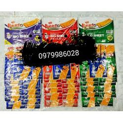Lốc 13 gói mực Bento Big Sheet Thái Lan loại mới