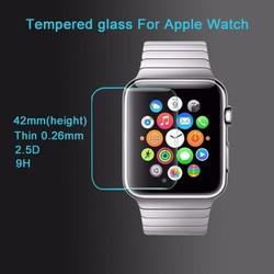 Apple Watch 42mm - Kính dán cường lực bảo vệ màn hình chống xước