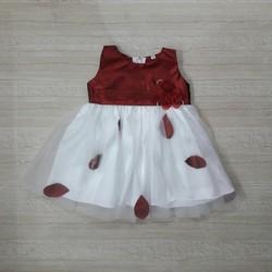 [Hàng thiết kế] - Đầm công chúa hình lá nơ eo