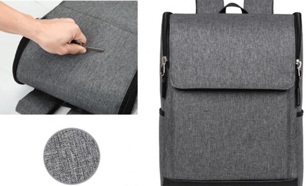 Balo laptop khóa dọc 12