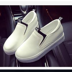 FL001T- Giày slip đế độn đơn giản cá tính nữ