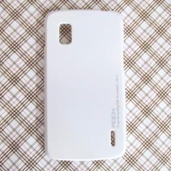 Ốp lưng LG Nexus 4 E960 hiệu Rock màu trắng