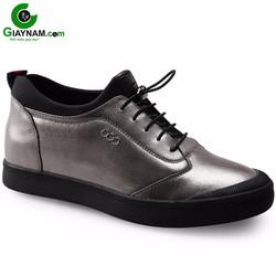 Giày tăng chiều cao GOG màu bạc