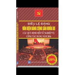 Sách: Điều lệ Đảng và văn kiện Đảng cộng sản Việt Nam khoá XII