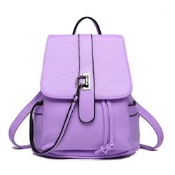 Balo da nữ phong cách thời trang mềm đẹp màu tím – W305
